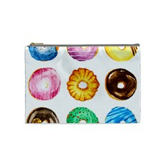 Donuts Cosmetic Bag (medium)  by KuriSweets