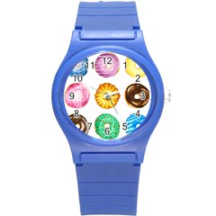 Donuts Round Plastic Sport Watch (s) by KuriSweets