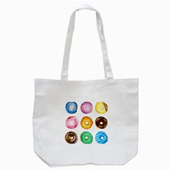 Donuts Tote Bag (white) by KuriSweets
