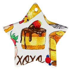 Xoxo Ornament (star) by KuriSweets