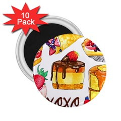 Xoxo 2 25  Magnets (10 Pack)  by KuriSweets