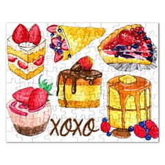 Xoxo Rectangular Jigsaw Puzzl by KuriSweets