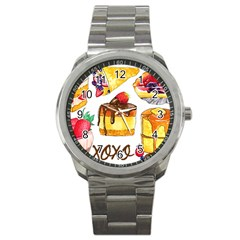 Xoxo Sport Metal Watch by KuriSweets