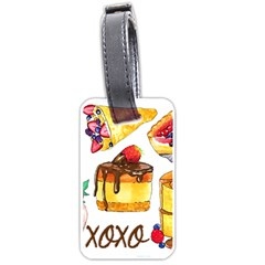 Xoxo Luggage Tags (one Side)  by KuriSweets