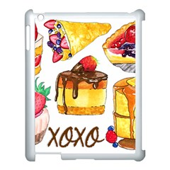 Xoxo Apple Ipad 3/4 Case (white) by KuriSweets