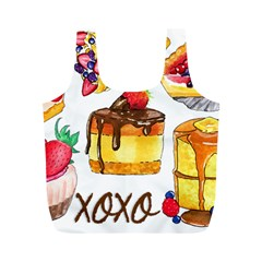 Xoxo Full Print Recycle Bags (m)  by KuriSweets
