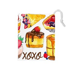 Xoxo Drawstring Pouches (medium)  by KuriSweets
