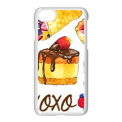 Xoxo Apple Iphone 7 Seamless Case (white) by KuriSweets