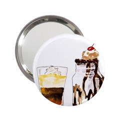 Coffee And Milkshakes 2 25  Handbag Mirrors