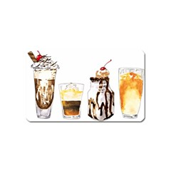 Coffee And Milkshakes Magnet (name Card) by KuriSweets