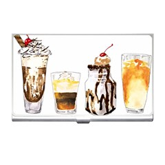 Coffee And Milkshakes Business Card Holders by KuriSweets