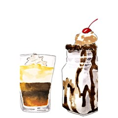 Coffee And Milkshakes 5 5  X 8 5  Notebooks by KuriSweets