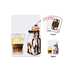 Coffee And Milkshakes Playing Cards (mini)  by KuriSweets