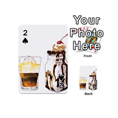 Coffee And Milkshakes Playing Cards 54 (mini)  by KuriSweets