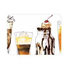 Coffee And Milkshakes Double Sided Flano Blanket (mini)  by KuriSweets