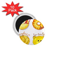 Cute Bread 1 75  Magnets (10 Pack)  by KuriSweets