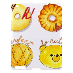 Cute Bread Apple Ipad 3/4 Hardshell Case by KuriSweets