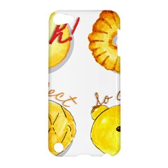 Cute Bread Apple Ipod Touch 5 Hardshell Case by KuriSweets