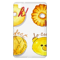 Cute Bread Samsung Galaxy Tab Pro 8 4 Hardshell Case by KuriSweets