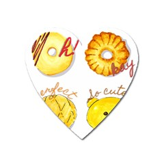 Bread Stickers Heart Magnet by KuriSweets