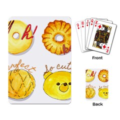 Bread Stickers Playing Card by KuriSweets