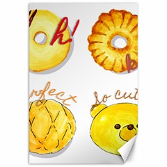 Bread Stickers Canvas 20  X 30   by KuriSweets