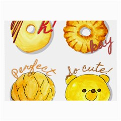 Bread Stickers Large Glasses Cloth by KuriSweets