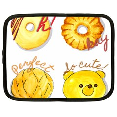 Bread Stickers Netbook Case (xl)  by KuriSweets