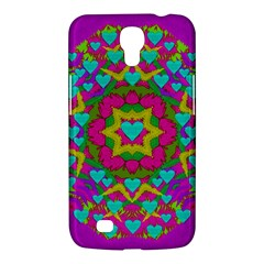 Hearts In A Mandala Scenery Of Fern Samsung Galaxy Mega 6 3  I9200 Hardshell Case by pepitasart