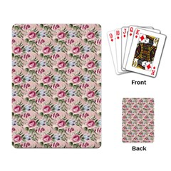 Cute Floral 218a Playing Card by MoreColorsinLife