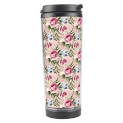 Cute Floral 218a Travel Tumbler by MoreColorsinLife