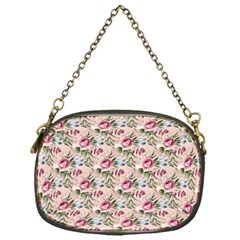 Cute Floral 218a Chain Purses (one Side)  by MoreColorsinLife
