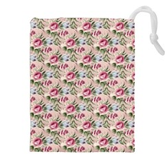 Cute Floral 218a Drawstring Pouches (xxl) by MoreColorsinLife