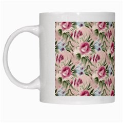 Cute Floral 218a White Mugs by MoreColorsinLife