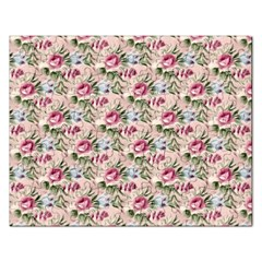 Cute Floral 218a Rectangular Jigsaw Puzzl by MoreColorsinLife