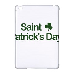 St  Patricks Day  Apple Ipad Mini Hardshell Case (compatible With Smart Cover) by Valentinaart