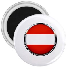 Austria Country Nation Flag 3  Magnets by Nexatart