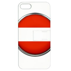 Austria Country Nation Flag Apple Iphone 5 Hardshell Case With Stand by Nexatart