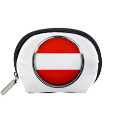 Austria Country Nation Flag Accessory Pouches (small)