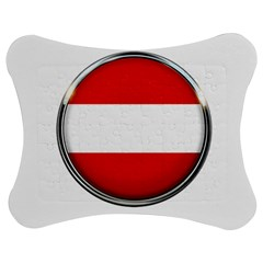 Austria Country Nation Flag Jigsaw Puzzle Photo Stand (bow) by Nexatart