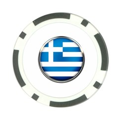Greece Greek Europe Athens Poker Chip Card Guard (10 Pack)