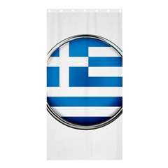 Greece Greek Europe Athens Shower Curtain 36  X 72  (stall)  by Nexatart