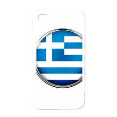 Greece Greek Europe Athens Apple Iphone 4 Case (white)