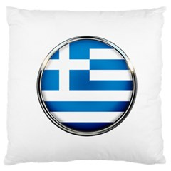 Greece Greek Europe Athens Large Flano Cushion Case (one Side)
