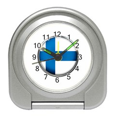 Finland Country Flag Countries Travel Alarm Clocks