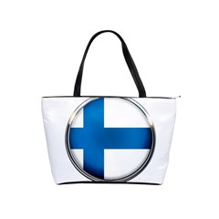 Finland Country Flag Countries Shoulder Handbags