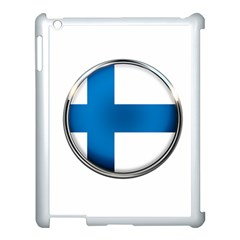 Finland Country Flag Countries Apple Ipad 3/4 Case (white)