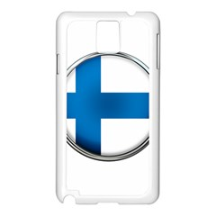 Finland Country Flag Countries Samsung Galaxy Note 3 N9005 Case (white)