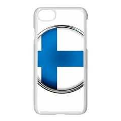 Finland Country Flag Countries Apple Iphone 7 Seamless Case (white)