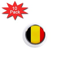Belgium Flag Country Brussels 1  Mini Magnet (10 Pack)  by Nexatart